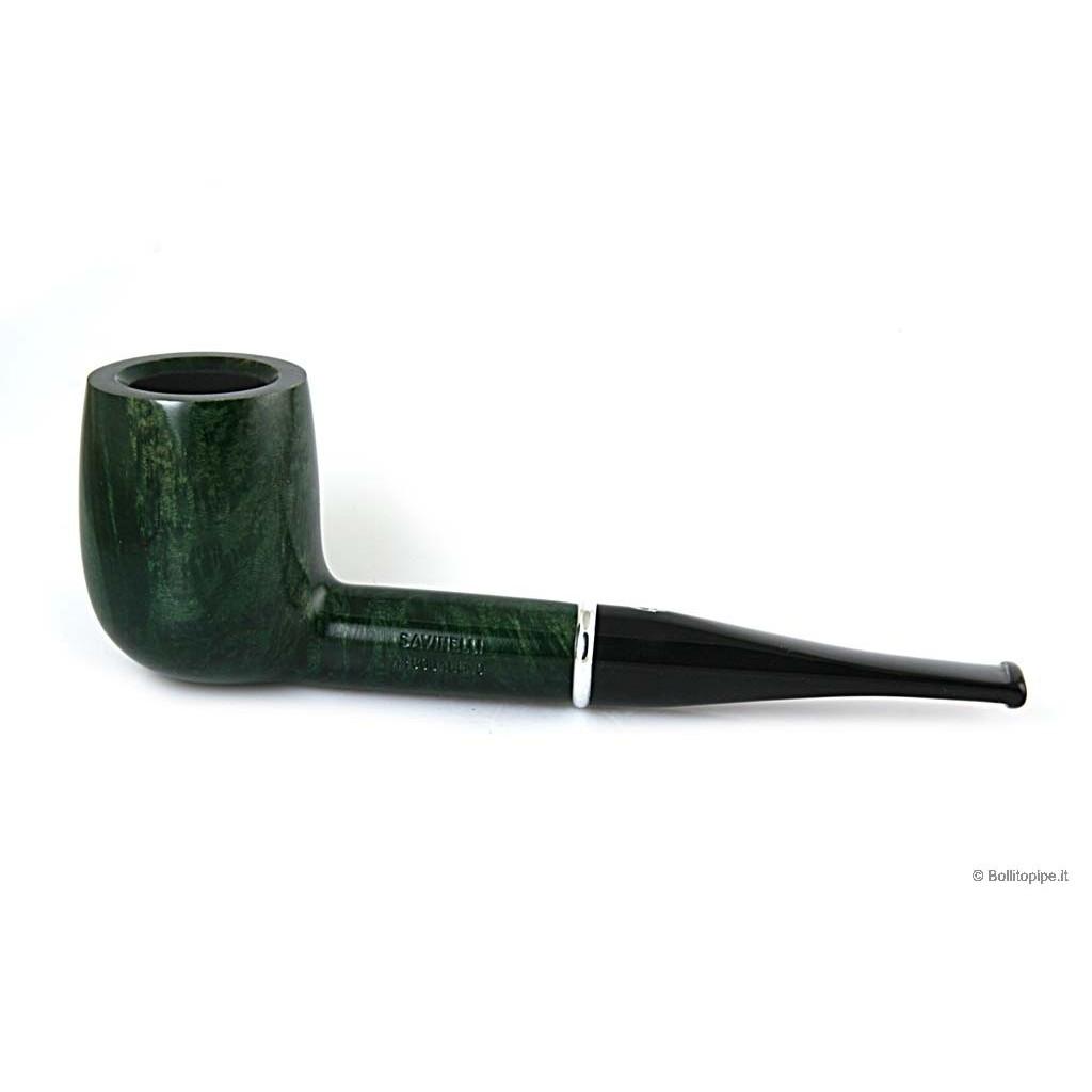 Savinelli Arcobaleno 111 Ks verde - filtro 9mm