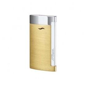 Accendino Jet Flame S.T. Dupont Slim 7 - Oro giallo satinato