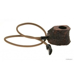 Table pipe - black rustic