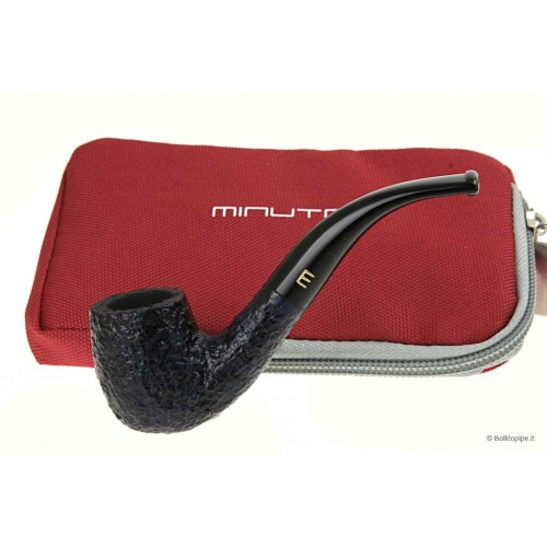 Minuto by Savinelli Bent billiard rustiqueè bleu