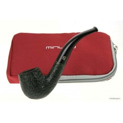 Minuto by Savinelli Bent billiard rusticada verde
