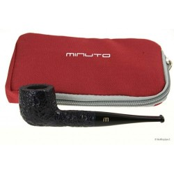 Minuto by Savinelli - straight blue rusticated