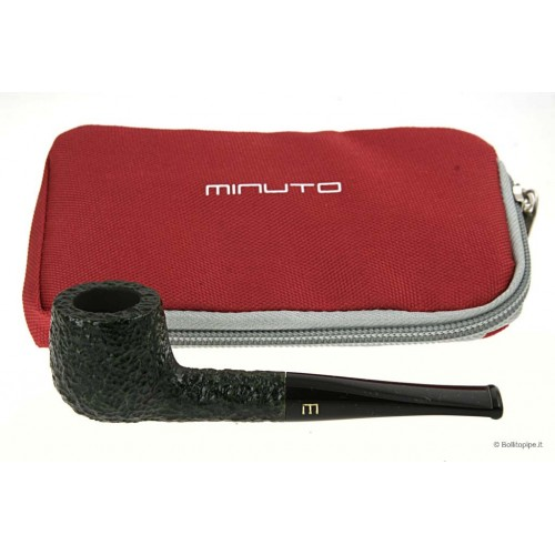 Minuto by Savinelli - straight green rusticated