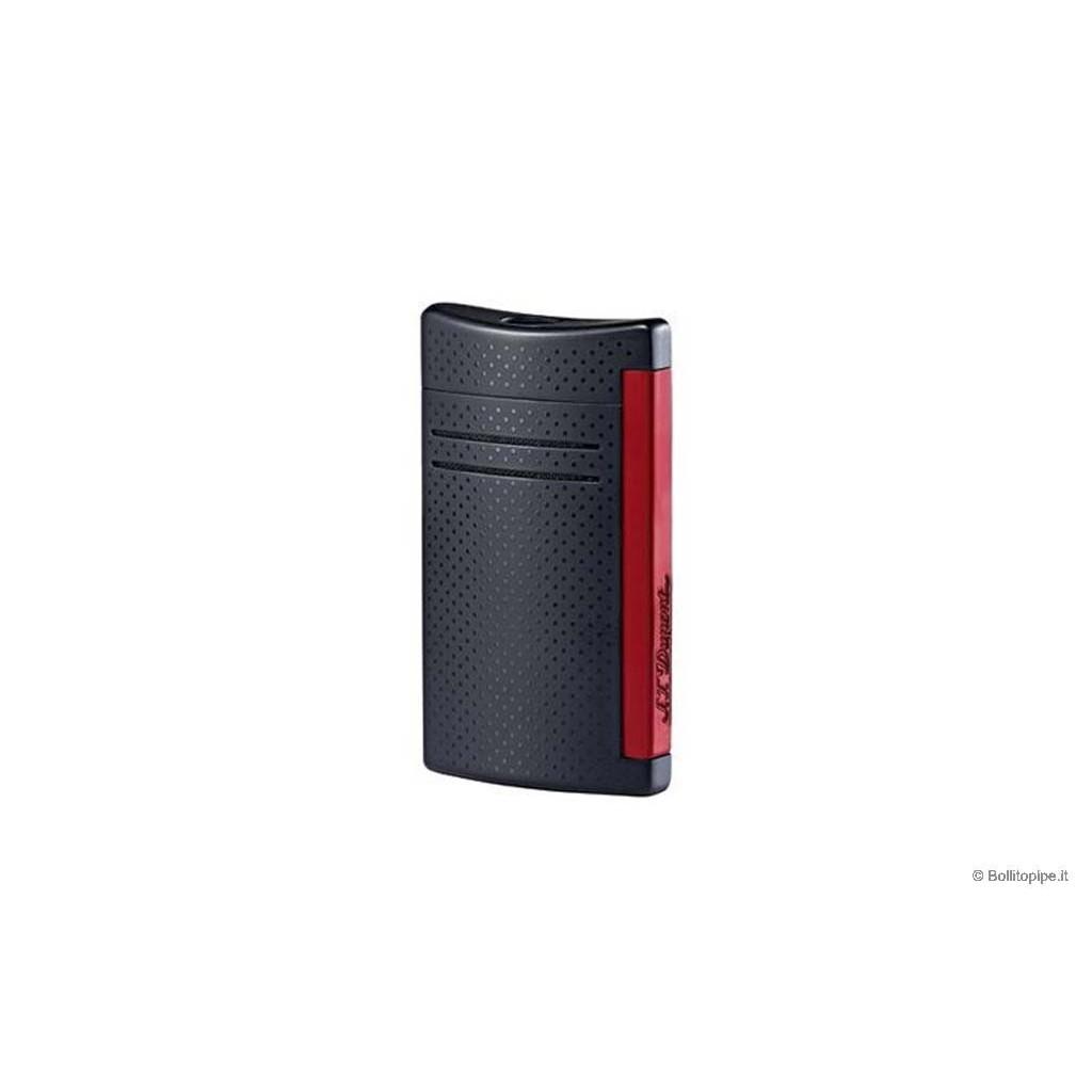 """Mechero S.T. Dupont XTend Maxi Jet - Negro & Rojo """"Puncher"""""""