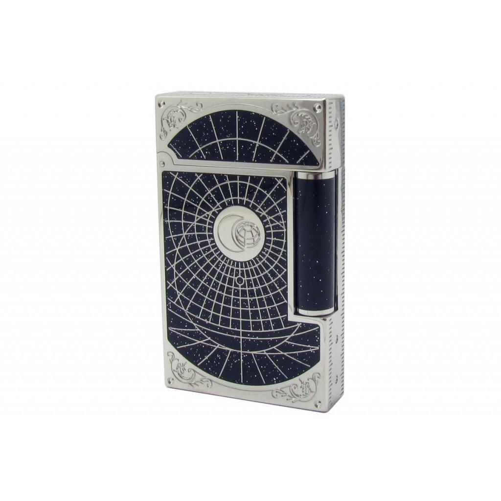 Mechero S.T. Dupont Linea 2 Premium - Laca de china y palladium - Shoot the Moon - Edición Limitada 2015