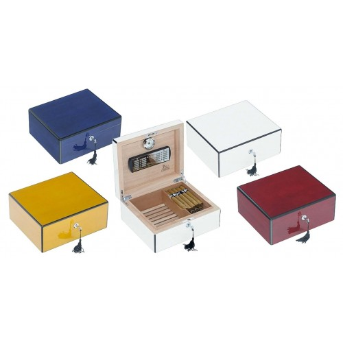 Humidor lacca for 50 cigares