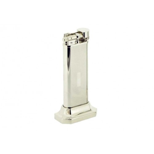 Table lighter silver plated - Lines