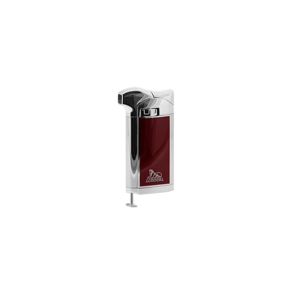 """Piezo Pipe Lighter """"Piper's delight"""" - Burgundy lacquer"""