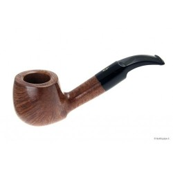 Savinelli Artisan - Fancy bent apple - filtro 6mm