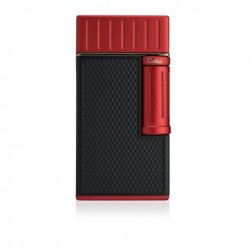 Colibri Lighter Julius - Black/Red - Cigar & Pipe burner