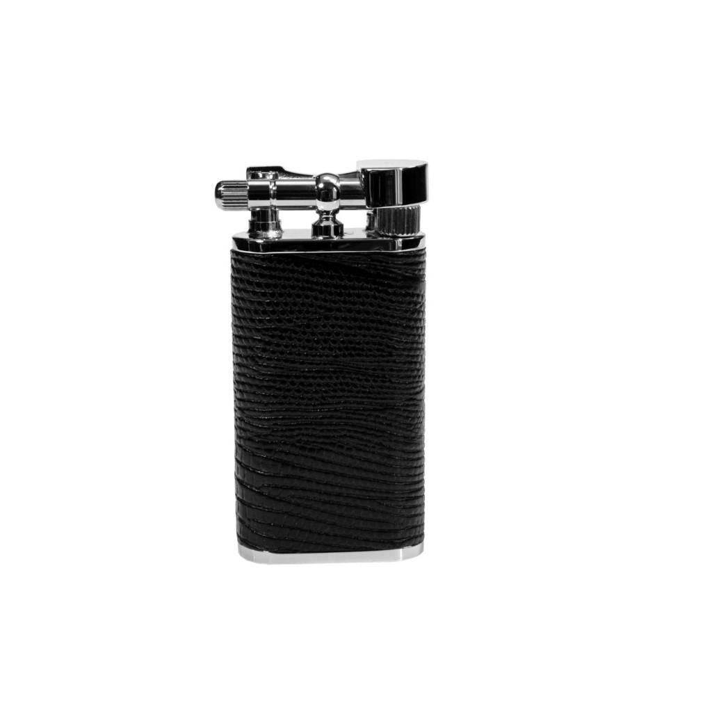 """Briquet pour pipe Tsubota Pearl """"Stanley"""" - Etui noir"""
