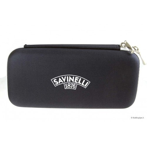 """Savinelli """"golf"""" pouch for 2 pipes and accessories"""