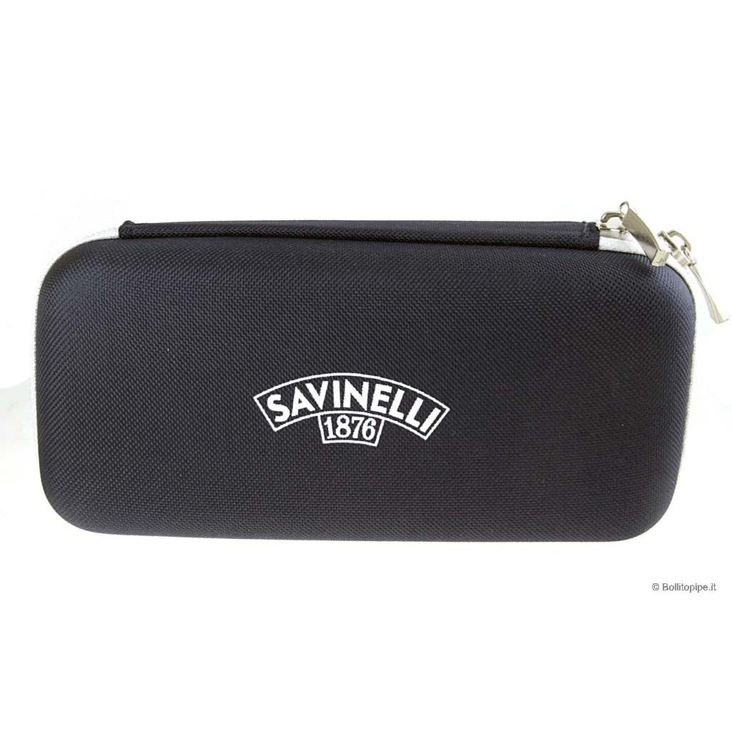 "Savinelli sac ""Golf"" pour 2 pipes"