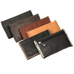 Leather tobacco pouch Antiquado