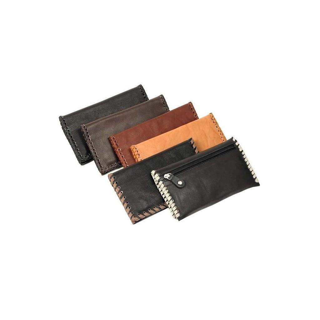 Leather tobacco pouch Antiquado