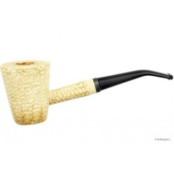 "Pipa Missouri Meerschaum in pannocchia ""Mark Twain"" - Bent"