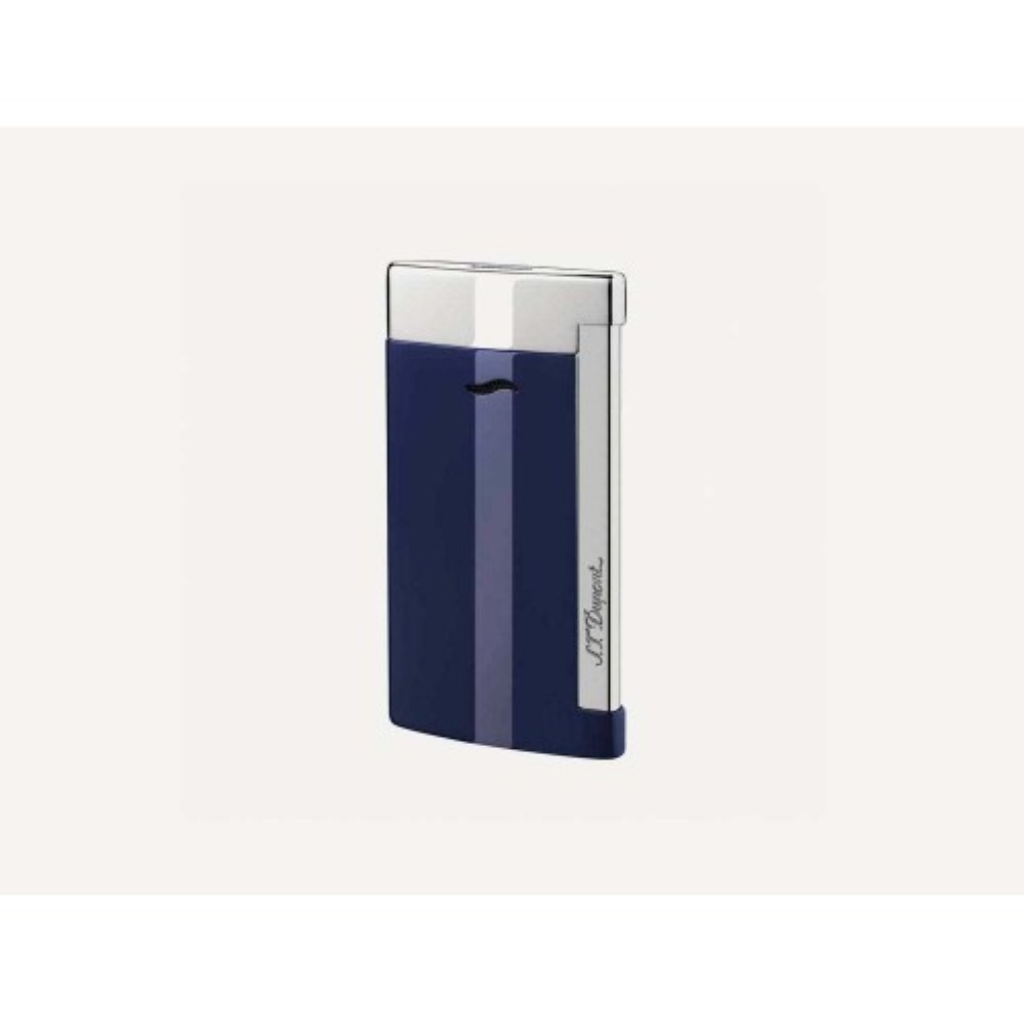 Accendino Jet Flame S.T. Dupont Slim 7 - Blu