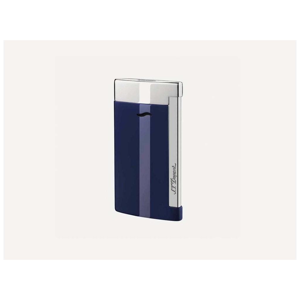 S.T. Dupont Slim 7 Jet Flame Lighter - Blue