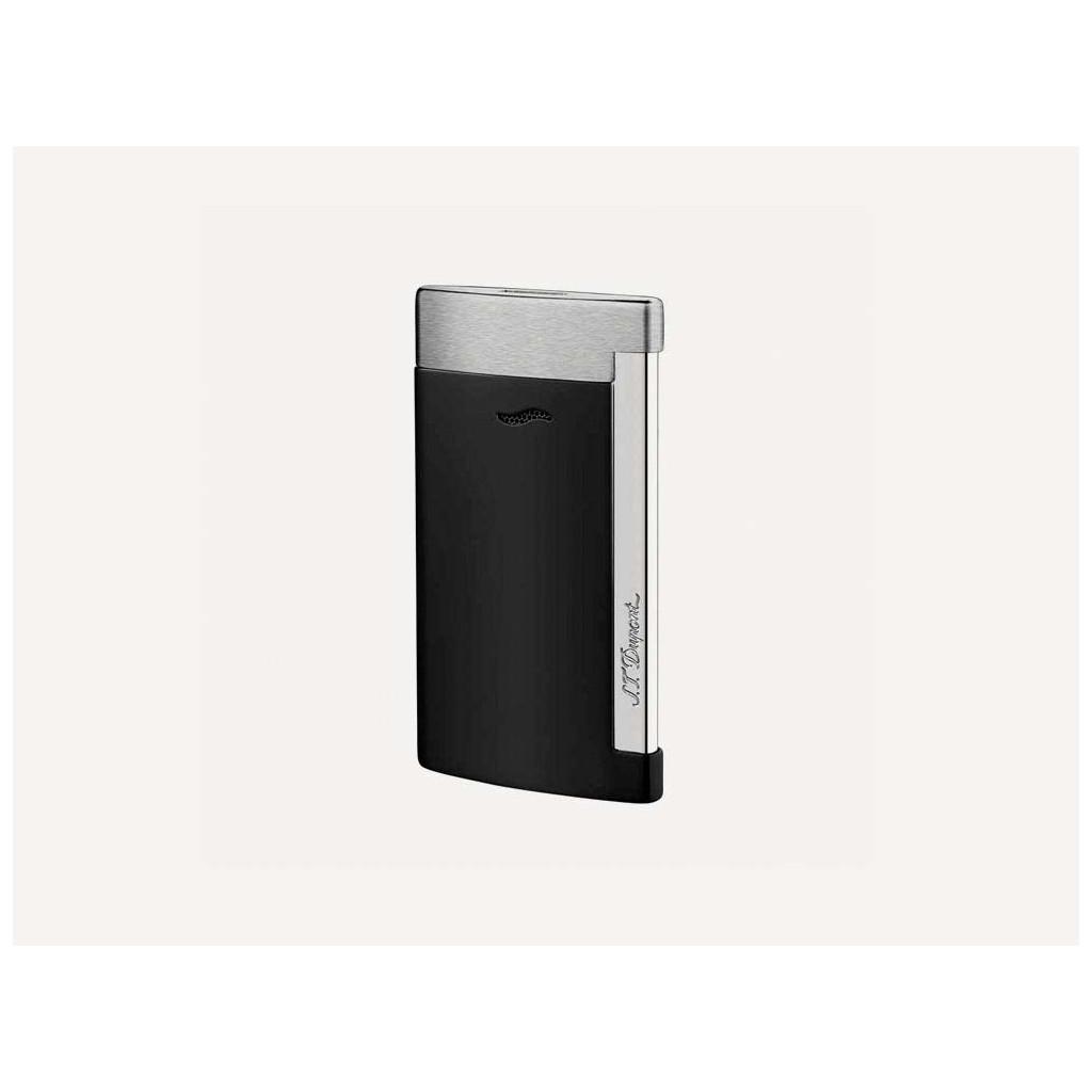 S.T. Dupont Slim 7 Jet Flame Lighter - Black Matt