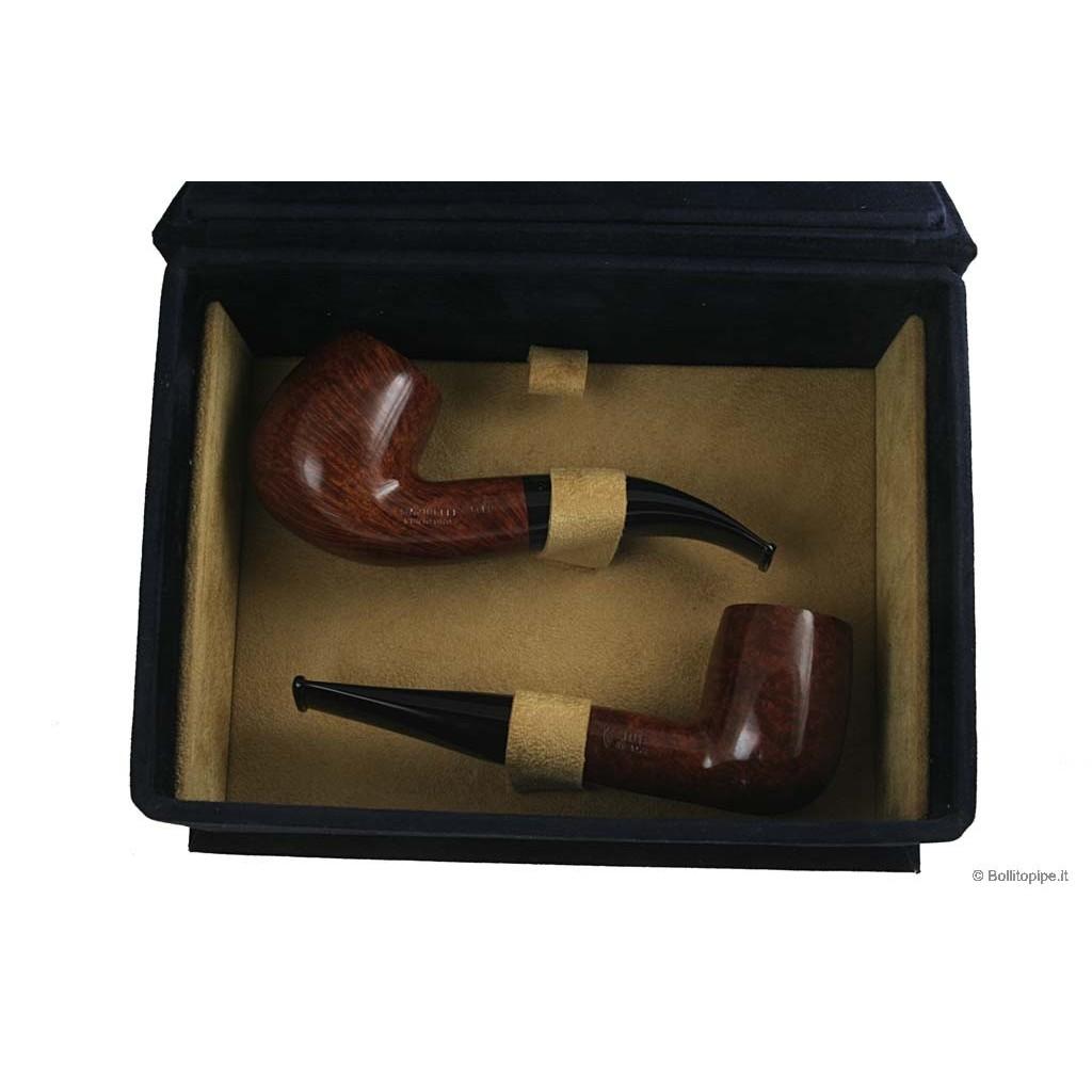 Pipe Savinelli Punto Oro Gold 101-616 in cofanetto limited edition
