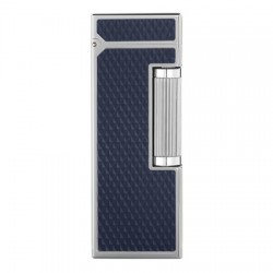 Dunhill Rollagas - Diamond Pattern - Resina azul