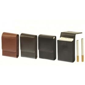 Portapacchetto in nappa morbida con magnete