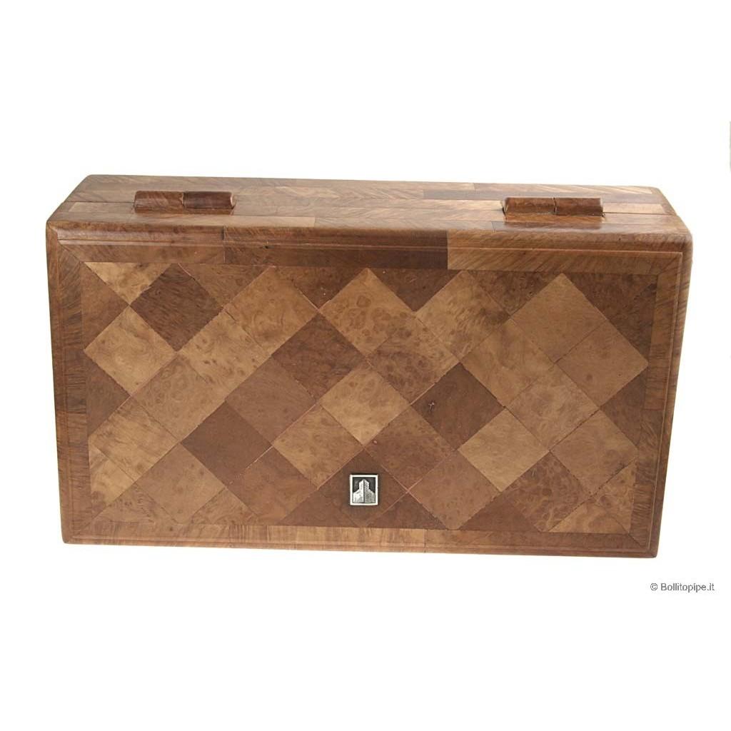 Rare - Castello Cigar Humidor - Briarwood