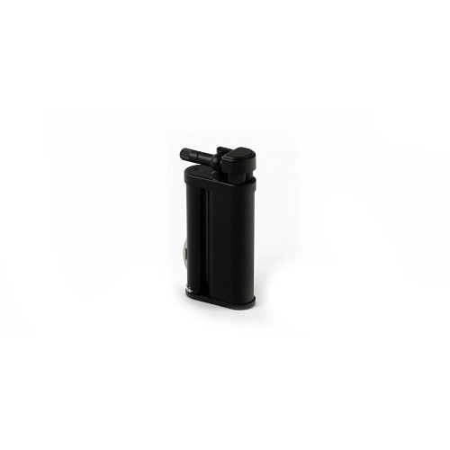 "Tsubota Pearl ""Bolbo"" pipe lighter with pipe tools - Black Matt"