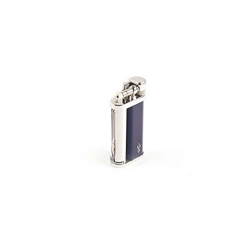 """Tsubota Pearl """"Savinelli"""" pipe lighter with pipe tools - Blue Laque"""