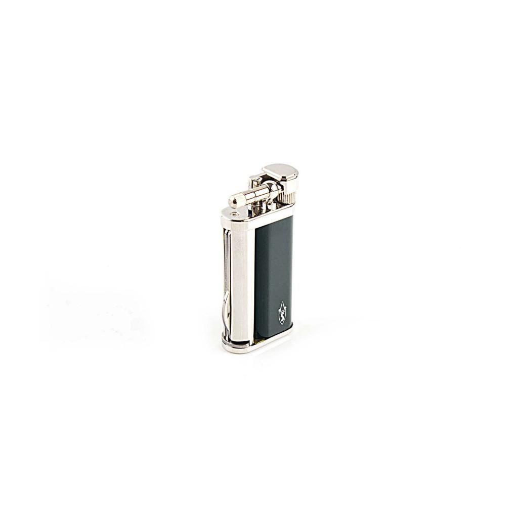 """Briquet pour pipe Tsubota Pearl """"Savinelli"""" avec accessoires - Vert Laque"""