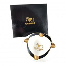 Cohiba 50th Anniversary ceramic cigar ashtray