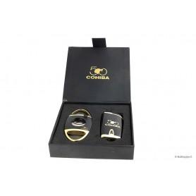 Cohiba 50° Cadeaux Pack - Coupe cigare Y Briquette 4-Jet Flame