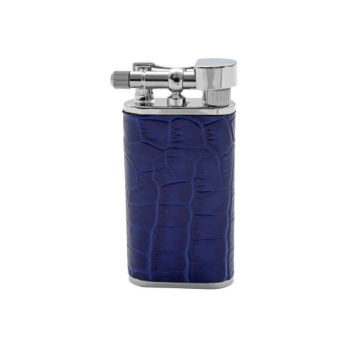 "Tsubota Pearl ""Stanley"" pipe lighter - Blue leather"
