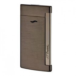 S.T. Dupont Slim 7 Jet Flame Lighter - Gun Metal