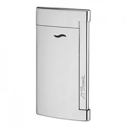 S.T. Dupont Slim 7 Jet Flame Lighter - Shiny Chrome