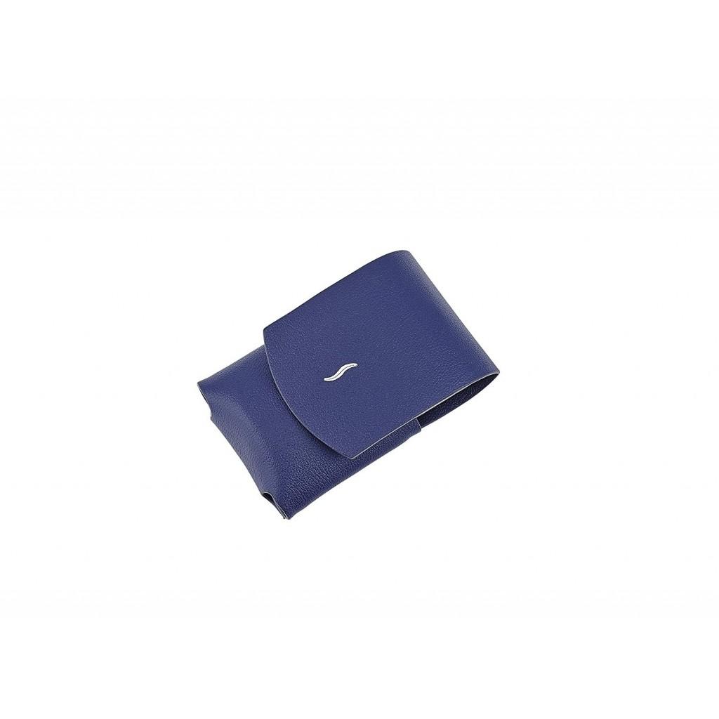 S.T. Dupont Minijet Lighter Case Leather - Blue