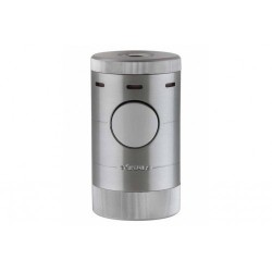 Xikar Volta Quad Flame Table-Top Lighter - Silver
