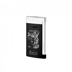 S.T. Dupont Slim 7 Jet Flame Lighter - Picasso - Lim. Ed. 2018
