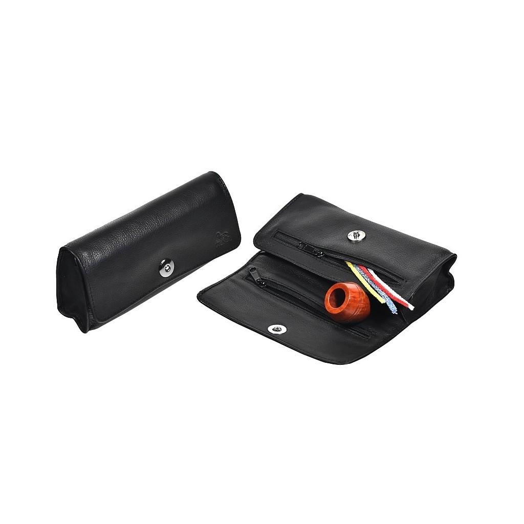 Borsa in nappa per 1 o 2 pipe, doppia miscela e accessori Magnet Line