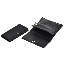 Portatabacco in nappa avvolgibile piccolo Magnet Line