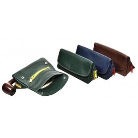 Borsa in nappa per pipa, tabacco e accessori ColorZip