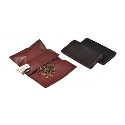 "Leather tobacco pouch ""Roll up"""