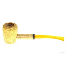 Legend Bent Corn Cob little pipe with acrylic mouthpiece