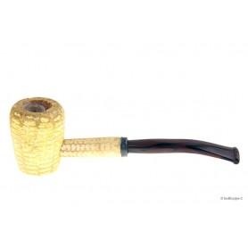 Legend Corn Cob pipe Petite courbe avec tuyau en acrilique