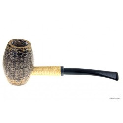Bent Country Gentleman Pipa Corn Cob