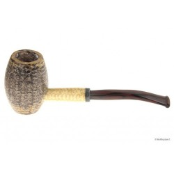 "Pipa in pannocchia ""Bent Country Gentleman"" con bocchino in metacrilato"