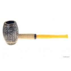 "Pipa Missouri Meerschaum in pannocchia ""Country Gentleman"" con bocchino in metacrilato"