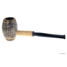 Country Gentleman Corn Cob pipe avec tuyau en acrilique