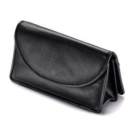 Bolsa Vauen en piel para 2 pipas, tobacco y accessorios