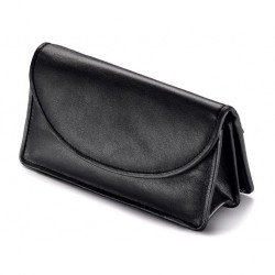 Vauen Leather pouch for 1 or 2 pipes, tobacco and accessories